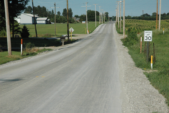 Portland Cement Roads : Tracy road roller compacted concrete pavement e b paving